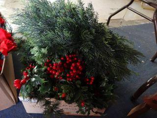 lot of Christmas Greenery