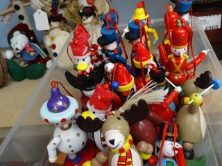 Tote of Ornament Figurines