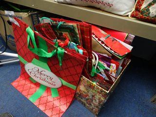 Huge lot of Christmas Gift Bags