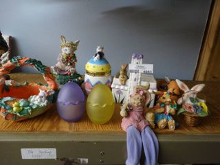 lot of Easter Decor