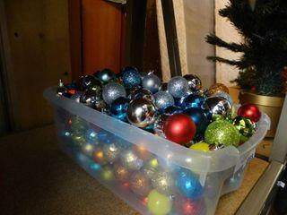 Tote of Small Ornaments