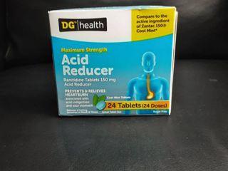 Dg Maximum Strength Acid Reducer 150mg Cool Mint 24 Tablets 12 2020