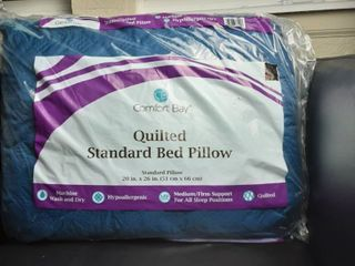 Quilted Standard Bed Pillow