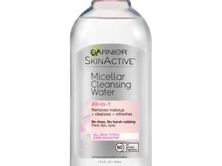 Garnier SKINACTIVE Micellar Cleansing Water All in 1 Makeup Remover   Cleanser   13 5 fl oz