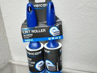 Evercare value 2Pack lint roller 70 clean tear sheet