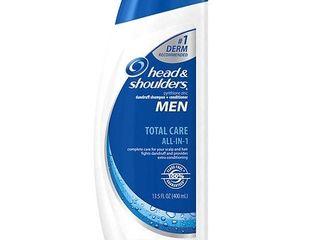 Head and Shoulders Men Total Care All In 1 Dandruff Shampoo   Conditioner 14 2 Fl Oz