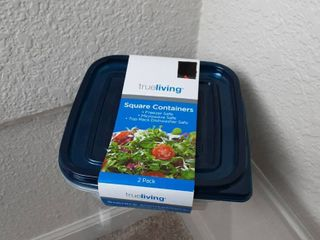 True living Square Containers
