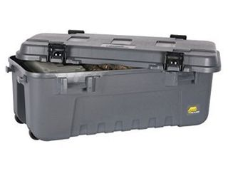 Plano Molding Company Heavy Duty Sportsman s Trunk  Grey