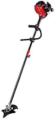 Craftsman WS235 2 Cycle 17 Inch Straight Shaft Gas Powered Brush Cutter and String Trimmer Handheld Weed Wacker with Attachment Capabilities for lawn Care  liberty Red