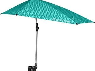 Sport brella Versa brella Spf 50  Adjustable Umbrella With Universal Clamp  ACTUAl COlOR IS GRAY