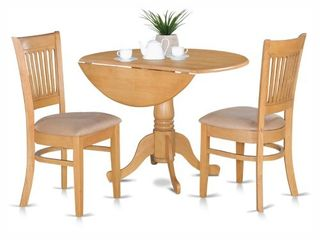 3 Pc Kitchen nook Dining set Kitchen Table and 2 slat back Chairs  CHAIRS ONlY