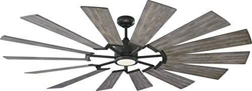 Monte Carlo Prairie Grand Prairie Grand 72  14 Blade Indoor   Outdoor Dc Ceiling Fan