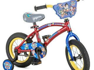 Paw Patrol Boys Bicycle  Red  12