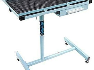 Sunex Tools 8019ElEANOR 8019 Pin Up Series Deluxe Work Table Eleanor Blue   MISSING 1 CASTOR