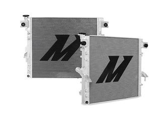 Mishimoto MMRAD WRA 07V2 fits 07 17 Jeep Wrangler JK Performance Aluminum Radiator V2