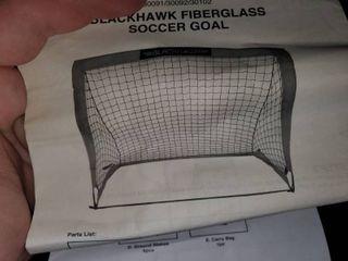 Franklin Blackhawk fiberglass soccer goal
