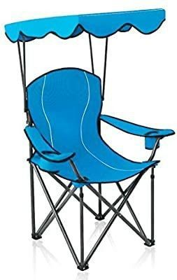 Alpha Camp Chairs with Canopy Canopy  Folding  with 350lb