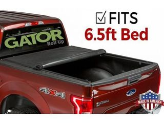 Gator ETX Soft Roll Up Truck Bed Tonneau Cover   53413   Fits 2007   2020 Toyota Tundra w  track system 6 6  Bed Bed   Made in the USA