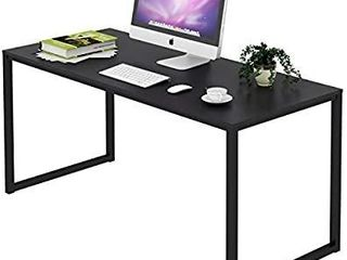 Shw Home Office 48 inch Computer Desk  Black