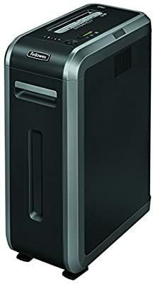 Fellowes Powershred 125Ci 100  Jam Proof 20 Sheet Cross Cut Commercial Grade Paper Shredder Black