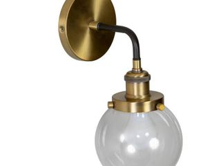 Samuel Suspended Orb Wall Sconce