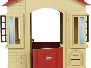 little Tikes   Cape Cottage Playhouse   Tan   MISSING SOME OF THE HARDWARE