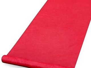 Healon Aisle Runners  100 Feet long  Red