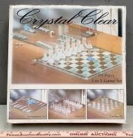 Crystal Clear Game Set