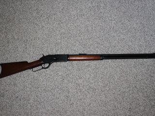 #21 Rare Winchester Model 1876 45-75 Rifle