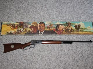 #22Winchester Theodore Roosevelt Comm. with box