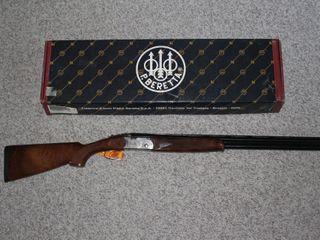#634 Beretta Model S686 Silver Pigeon w/ box