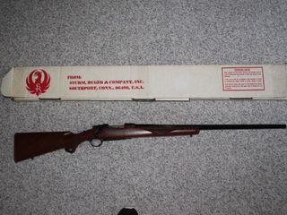 #38 Ruger Model M77R 220 Swift w/ Box