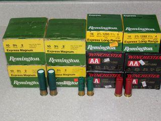 #659 (4) Boxes of Remington 10GA, (2) 16 GA, (4) Boxes of Winchester 12GA