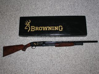 #605 Browning Model M-12 with box