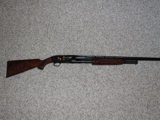 #605 Browning Model M-12 Pump Action 28 Gauge Shotgun