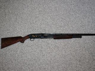 #6 Browning Model M-12 Pump Action 20 Gauge Shotgun