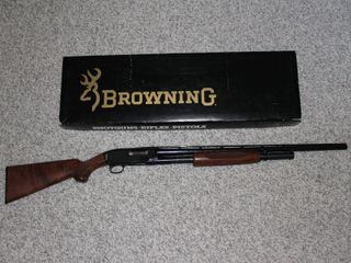 #607 Browning Model M-12 with box