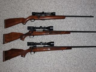Weatherby, Remington, Winchester, etc.