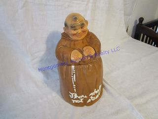 MONK COOKIE JAR