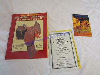 SADDlES   SPURS BOOK