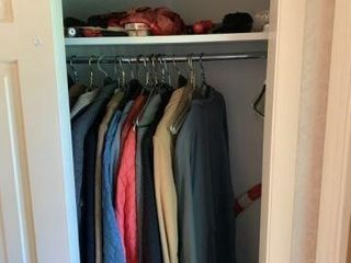 Clothing & Miscellaneous in Closet