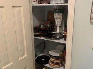 Large Lot of Glassware & Kitchen Wares & Misc