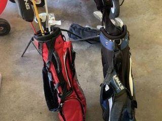 2 Sets of Junior Golf Clubs