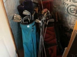 Lot of Golf Clubs (4 Sets)