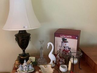 Lamp & Miscellaneous Collectibles