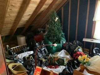 Remaining Contents of Attic
