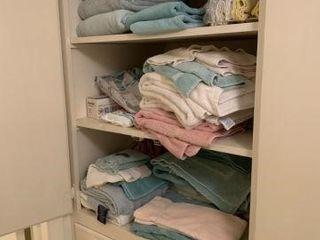 Contents of 2 Hall Linen Closets