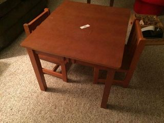 Childs Table & Chairs