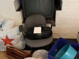 TV, Boom Box & Miscellaneous