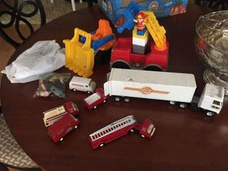 Lot of Miscellaneous Toys
